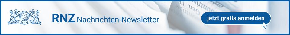 RNZ Nachrichten-Newsletter - jetzt gratis anmelden!